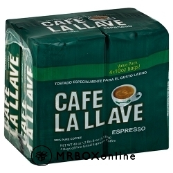 Cafe La Llave Ground Espresso