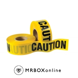 3x1000 CAUTION Barricade Tapes