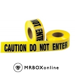3x1000 CAUTION DO NOT ENTER Barricade Tapes