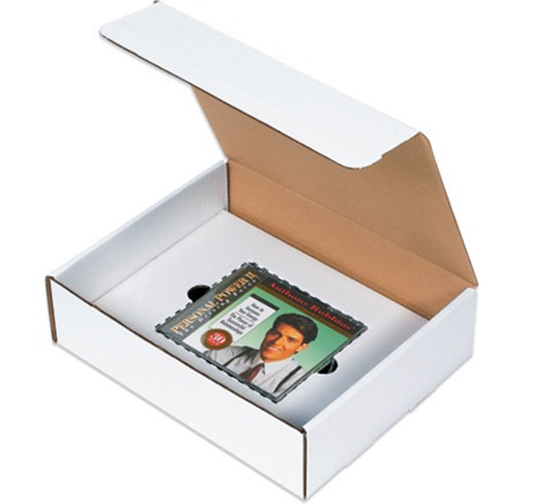 11.125x8.75x2 CD Literature Mailer Kit Box