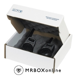 8x8X2.75 Charcoal Foam Shipper Boxes