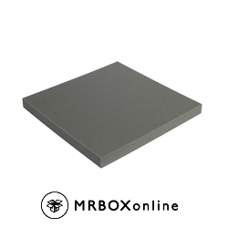 1/2x12x12 Charcoal Soft Foam Sheets