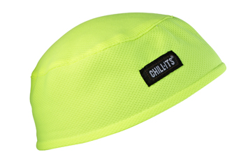 Chill Its Cool Hat Lime Green Hi Visibility