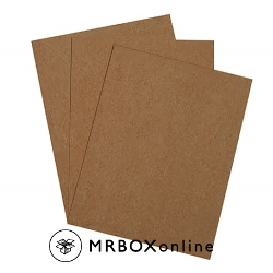 8.5x11 .022 Chipboard Sheets