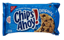 Free Gift:Chips Ahoy cookies free with a $225 order