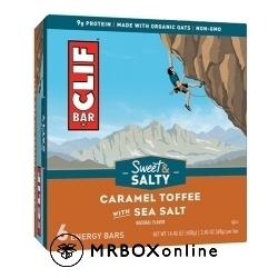 Clif Bars Caramel with a $475 order