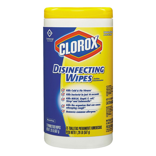 Clorox Disinfecting Wipes 75 CT