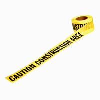 3x1000 CAUTION CONSTRUCTION AREA Barricade Tape