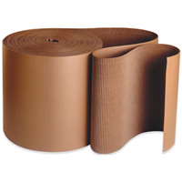 30x250 Brown Singleface Corrugated Rolls