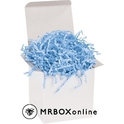 Light Blue Crinkle Cut 10 pound