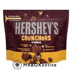 Hershey's Crunchers with an order of $475