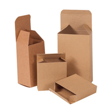 3x3x4 Kraft Chipboard Boxes