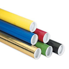 2x36 Colored Mailing Tubes