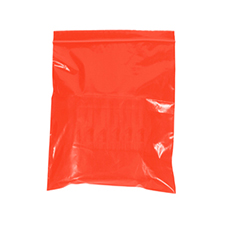 "3x5"" Reclosable Red Bag 2 Mil"