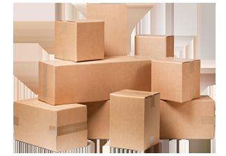 Cardboard 605x450x100-145mm 1 Wavy Cartons Cardboard Boxes Shipping Carton