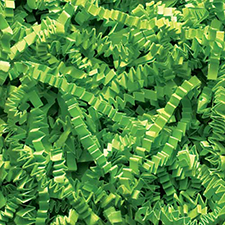 Lime Green Crinkle Cut 10 pound
