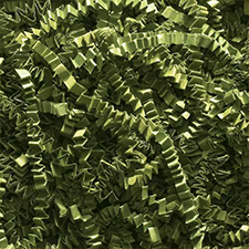 Olive Green Crinkle Cut 10 pound