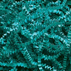 Teal Crinkle Cut 10 pound