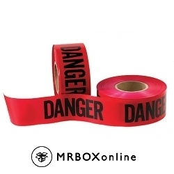 3x1000 DANGER Barricade Tapes