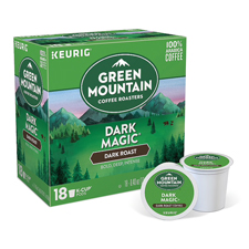 Green Mountain Coffee Dark Magic Dark Roast Coffee $475 order