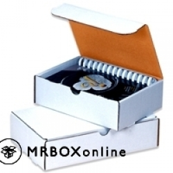 23x13x2.5 White Die Literature Mailer Box