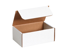6x5x5 White Die Cut Mailer Boxes