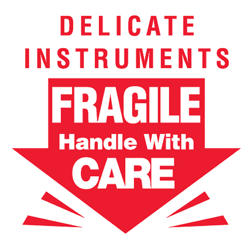 3x3 Delicate Instruments HWC Label