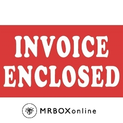 3x5 Invoice Enclosed