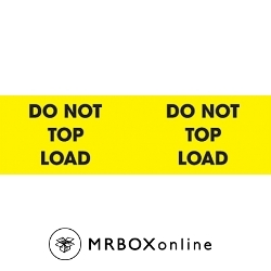 3x10 Do Not Top Load Pallet Labels