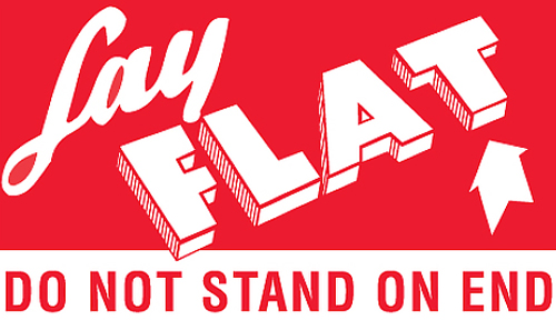 3x5 Lay Flat Do Not Stand On End