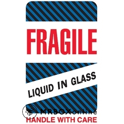 4x6 Fragile Liquid in Glass