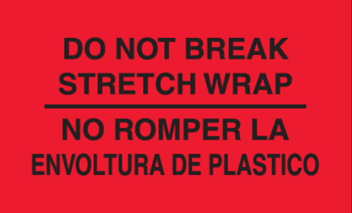 3x5 Do Not Break Stretch Wrap No Romper