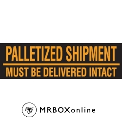 3x10 Must Be Delivered Intact Pallet Labels