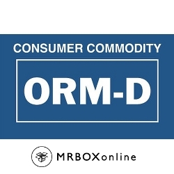 ORM D Consumer Commodity Label