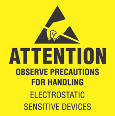 4x4 Attention Observe Precautions Labels