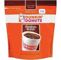 Dunkin Donuts Ground Coffee with a $525 order