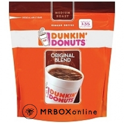 Dunkin Donuts Ground Coffee with a $1000 order
