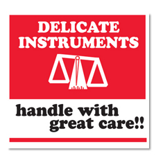 "4""x4\"" Delicate Instruments HWC Label"