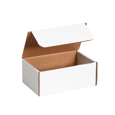10x6x6 White Die Cut Mailer Boxes