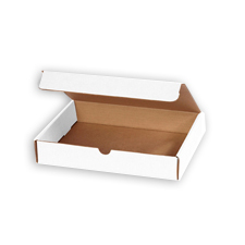 6x2.5x1.75 White Die Cut Mailer Boxes