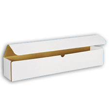 17x6x6 White Die Cut Mailer Boxes