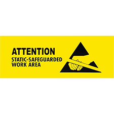 ESD Warning Sign 8.5x11