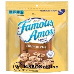 Famous Amos Chocolate Chip Cookies with a $475 order
