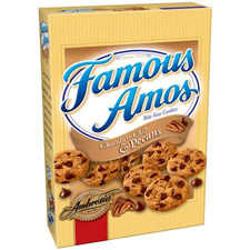 Famous Amos Cookies with a $225 order