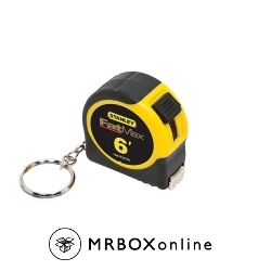 Stanley FatMax 6 ft keychain pocket tape measure