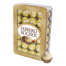 Free Gift:Ferrero Rocher with a $475 order