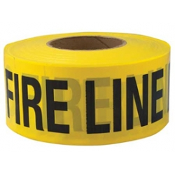 3x1000 FIRE LINE DO NOT CROSS Barricade