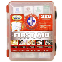 Free Gift:Deluxe First Aid Kit with a $525 order