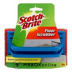 3M Scotch Brite Handled Multi-Purpose Floor Scrubber