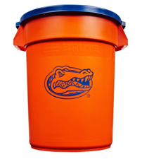 Rubbermaid� Team BRUTE� Florida Gators Trash Can